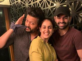 genelia d'souza,riteish deshmukh,Ram Pothineni,South