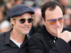 Brad Pitt,Quentin Tarantino,Hollywood,Brad Pitt Once Upon A Time In Hollywood