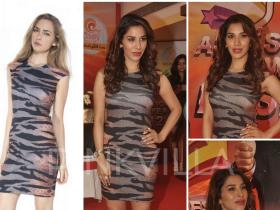 Celebrity Style,christian louboutin,alexander mcqueen,Sophie Choudry,McQ by Alexander McQueen