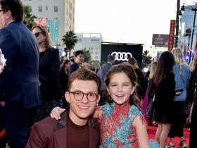 Tom Holland,Spider-Man: Far From Home,Hollywood,Lexi Rabe