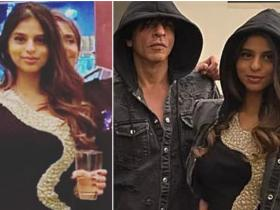 Celebrity Style,fashion,Suhana Khan,shah rukh khan