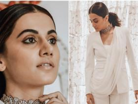 Celebrity Style,Taapsee Pannu,pantsuit,mission mangal