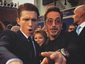 Tom Holland,Robert Downey Jr,Spider-Man: Far From Home,Hollywood