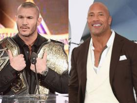Dwayne Johnson,The Rock,WWE,Hollywood,Randy Orton,Friday Night SmackDown,Wrestlemania 36