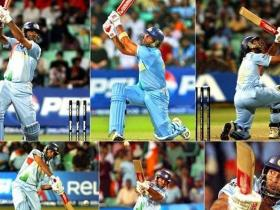 This day that year: Yuvraj Singh smashed Stuart Broad for six sixes in an over in a T20 World Cup game