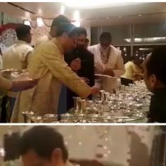 EXCLUSIVE: Aamir Khan & Big B serving dhoklas at Ambani wedding will make you want to be on that guest list