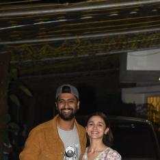 Photos: Alia Bhatt and Vicky Kaushal hug it out at Uri's special screening