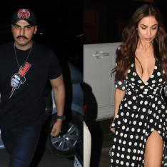 Photos: Arjun Kapoor and Malaika Arora are one HOT couple on their date night