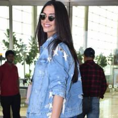 Photos: Deepika Padukone flashes her million dollar smile at the airport as she jets off to Kochi
