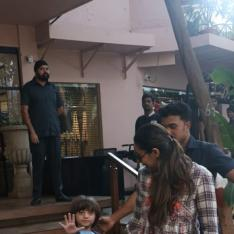 Photos: AbRam Khan snapped with mom Gauri Khan and his footwear steals the attention