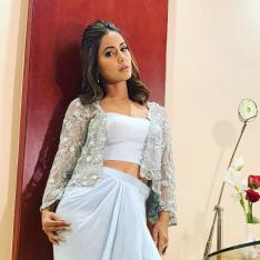 Hina Khan's latest photos prove that she is the quintessential beauty with a touch of glam