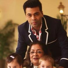 Karan Johar gives a befitting reply to a user accusing him of keeping kids Yash, Roohi away from mother's love
