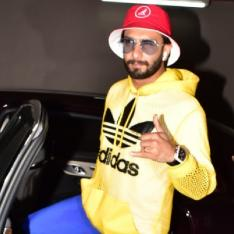 Photos: Ranveer Singh walks into the weekend with his Gully Boy swag as he gets snapped at the airport