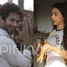 Photos: Shahid Kapoor is all smiles for the paparazzi; Sara Ali Khan hits the gym