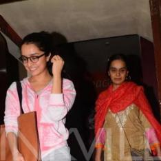 EXCLUSIVE: Shraddha Kapoor makes last minute arrangements to be present for mother's birthday; find out