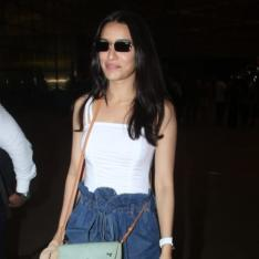 Airport Diaries: Shraddha Kapoor nails it in her casual chic look as she makes way to Hyderabad