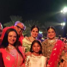 Ahead of Sridevi's first death anniversary, her last photo with Boney Kapoor & family will make you emotional