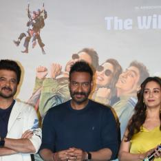 Total Dhamaal trailer launch: Anil Kapoor, Madhuri Dixit and Ajay Devgn clicked in a jovial mood at the event