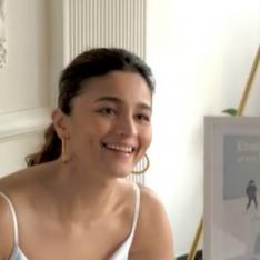 Alia Bhatt, recovered from COVID 19, is back at creating stories in a 'happy' mood & white look in THIS video