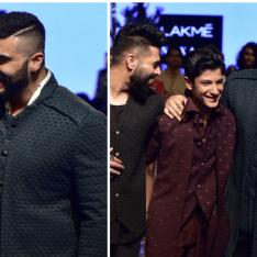 Arjun Kapoor gives others a run for their money as he turns show stopper for Kunal Rawal at LFW 2019