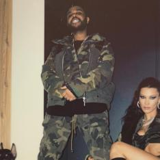 Bella Hadid and The Weekend were TWINNING for his birthday and giving us major couple goals