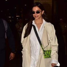 Deepika Padukone returns from London and we are in love with her airport look; See photos