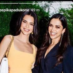 Kendall Jenner has a supermodel moment before meeting Deepika Padukone in New York
