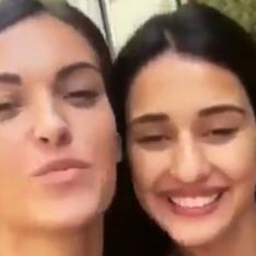 Disha Patani roaming around the streets happily with a friend in this throwback VIDEO is a treat to watch