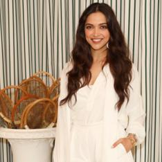 Deepika Padukone looks ravishing in an all white attire as she attends the Wimbledon final; View PIC