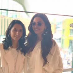 Deepika Padukone and sister Anisha are definitely living the 'sporting dreams' as they attend Wimbledon 2019