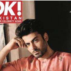 Fawad Khan is the man with the 'midas touch' on the cover of OK magazine