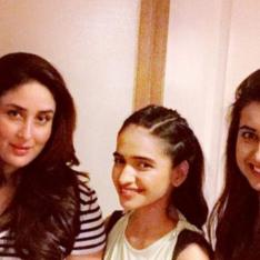 Kareena Kapoor Khan looks flawless sans makeup as she poses with her fans in a rare throwback PHOTO