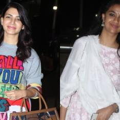 Airport Diaries: Samantha Akkineni looks flawless; Keerthy Suresh aces no makeup look in her desi outfit