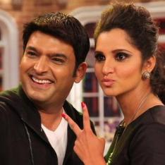 The Kapil Sharma Show: This video of Sania Mirza & Kapil Sharma from sets of the show will make you go ROFL