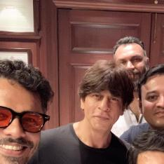Shah Rukh Khan & Malayalam director Aashiq Abu meet for a 2 hour conversation; SRK signs his first after Zero?