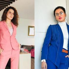 Taapsee Pannu RESPONDS to Kangana Ranaut's sister's 'sasti' copy jibe; says can't play nepotism card with me