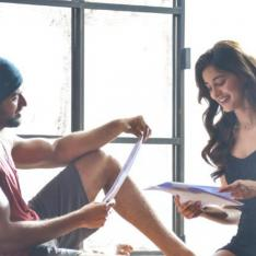 FIRST PHOTOS: Vijay Deverakonda and Ananya Panday bond and get candid on the sets of Puri Jagannadh's film