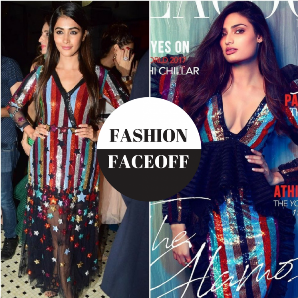 1b4396715330a Athiya Shetty recently appeared on the cover of The Peacock magazine, she  was seen wearing a glittering Falguni and Shane Peacock dress, that had a  slashing ...