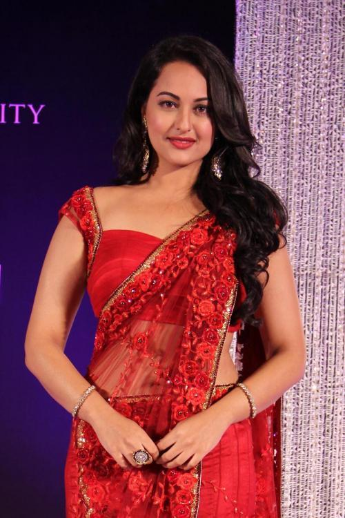 20 Photos Of Sonakshi Sinha In Sarees Looking Elegant And