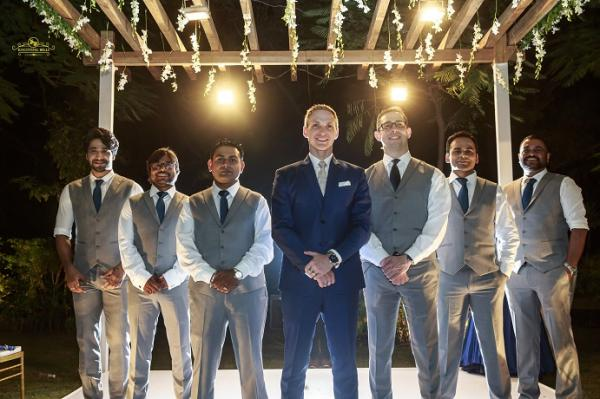 Image result for Checkout: Aashka Goradia and Brent Goble's fairytale white wedding