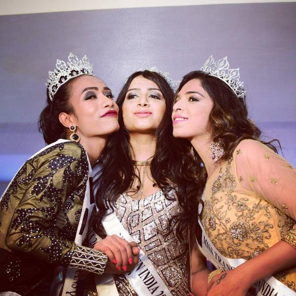 Indian transgender beauty pageant-1036