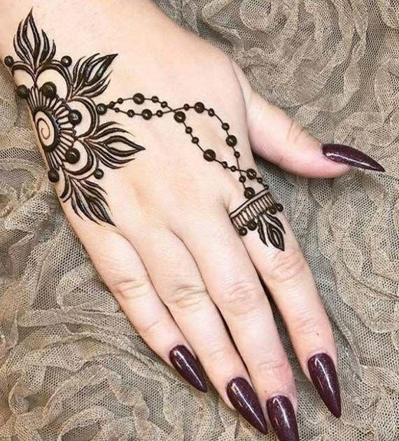 here is a look at some new and intuitive henna designs from instagram that you must try this karva chauth