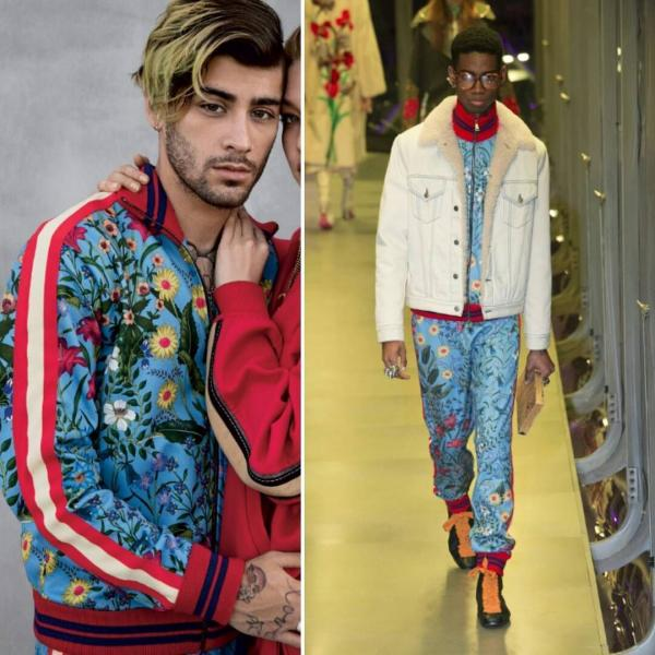 Image result for zayn malik gucci bomber