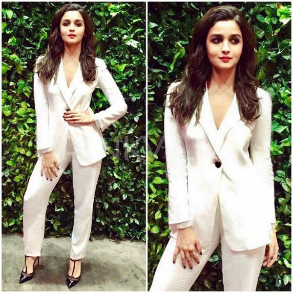 Image result for alia white suit