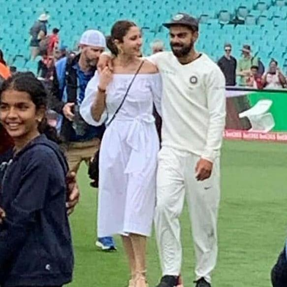 Virat Kohli and Anushka Sharma enjoy some romantic time in Australia