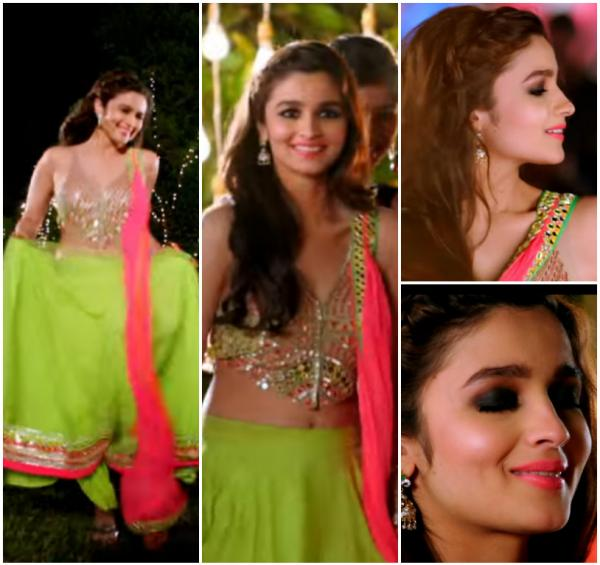 Fulfil Her Wish To Be A Manish Malhotra Bride And The Lehenga Which She Wore For One Of Weddings Was Such An Unusual Colour With Beautiful Blouse