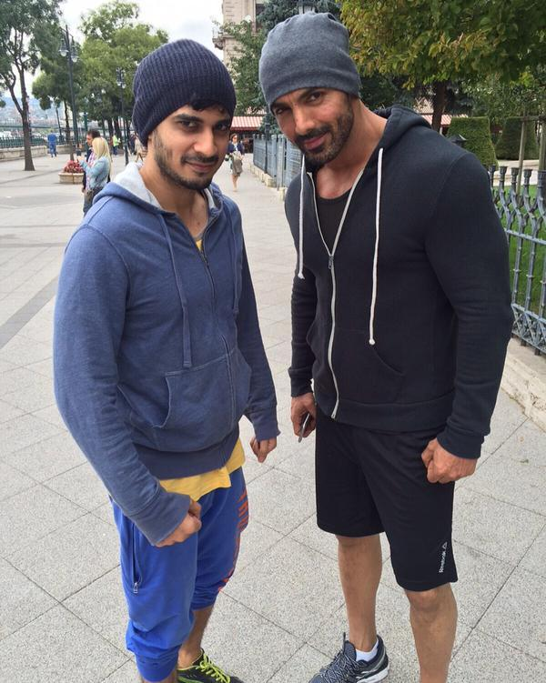 Budapest Diaries John Sonakshi And Tahir Get Ready For Force 2