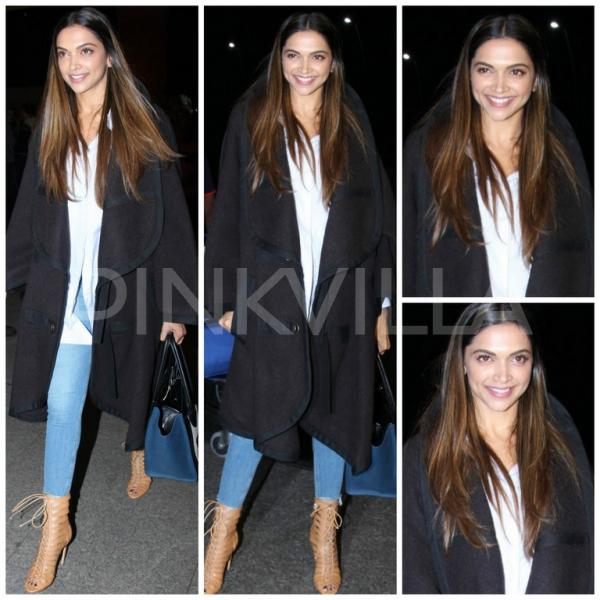 Deepika Padukone Starts On A High Style Note With Her Chic - Hair colour deepika padukone