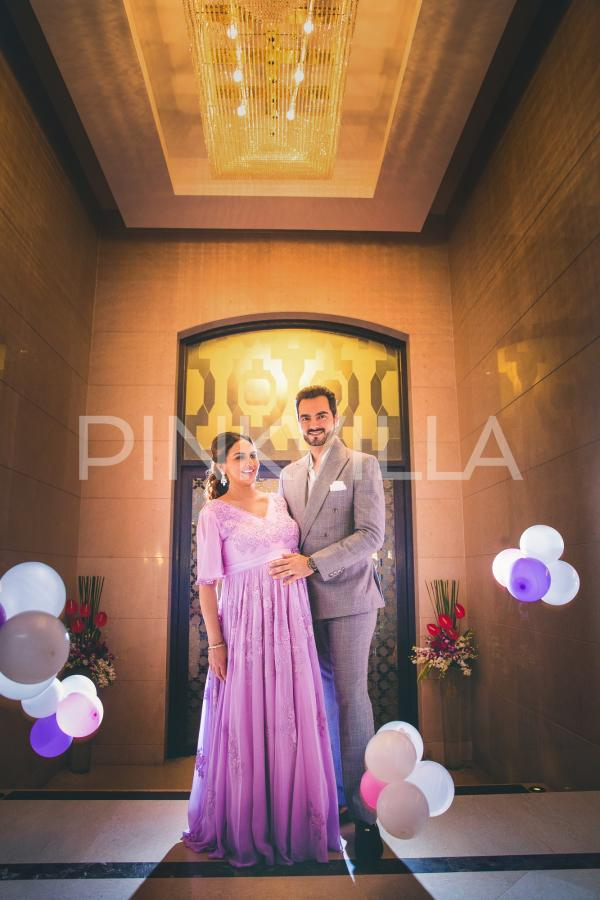 deol throws a surprise lavender themed baby shower for her pinkvilla