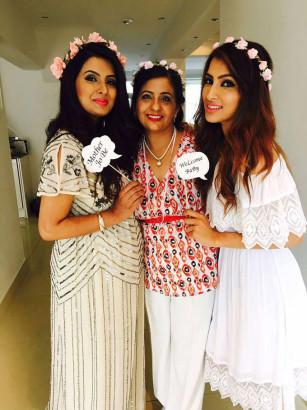 In Pics Soon To Be Mommy Geeta Basra Looks Adorable At Her Baby